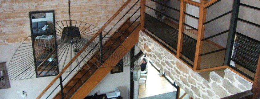 Escalier bois Nantes