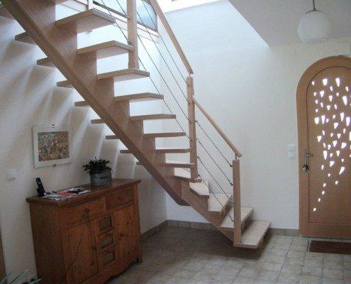 Escalier bois Trignac