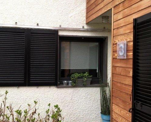 Fenêtre volet coulissant alu Nantes