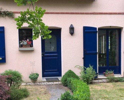Porte d'entrée volets battants Guérande