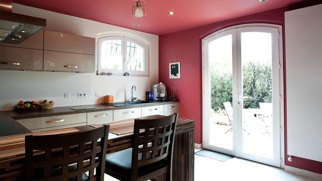 Porte fenêtre PVC cuisine Nantes La Baule