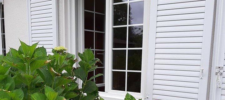 Porte fenêtre volets battants PVC Saint-Herblain