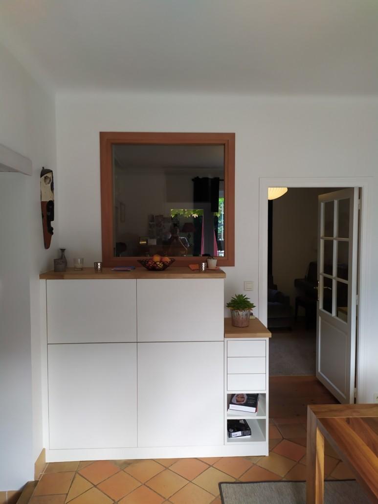 meuble et plan de travail bois sur-mesure