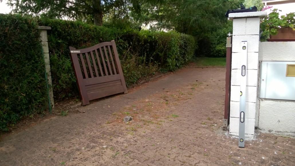 rénovation portail bois nantes