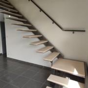 fabrication et pose d'escalier sur mesure